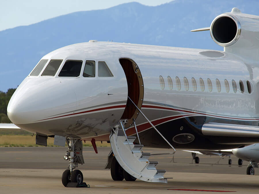 Falcon 900 Private Jet Charter