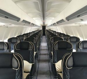 VIP Boeing 737 Private Jet Cabin