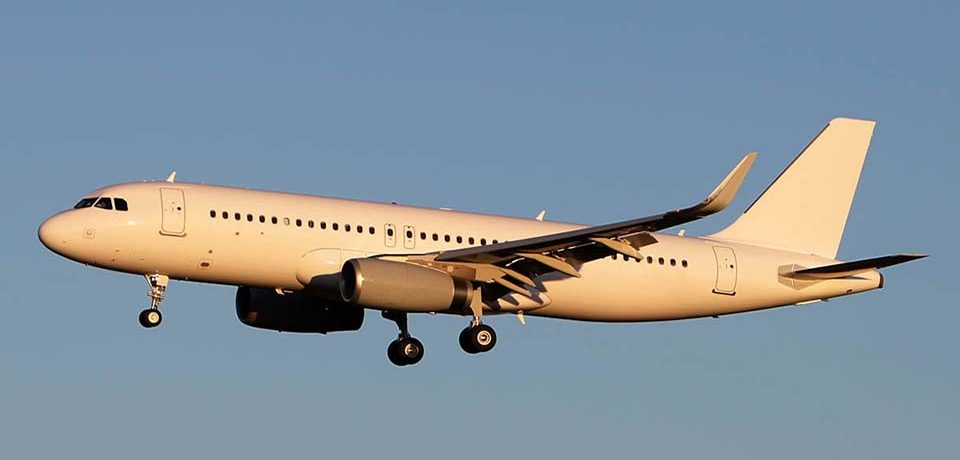 Airbus A320 Private Jet