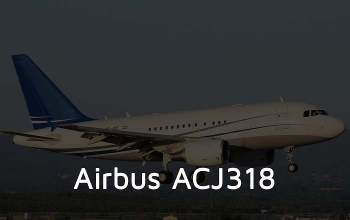 Hire An Airbus ACJ 318 Private Jet
