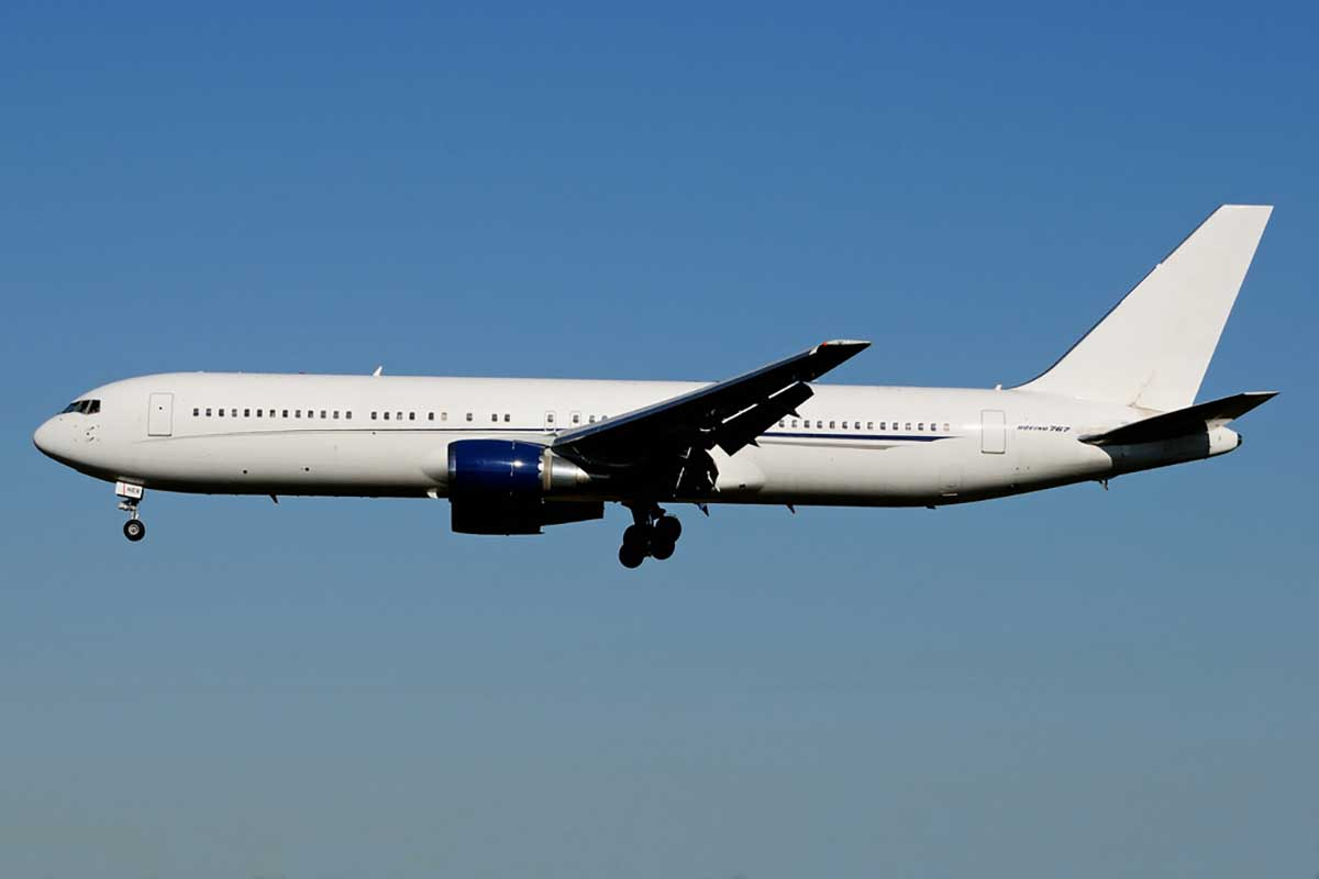 Boeing 767 Private Jet Hire