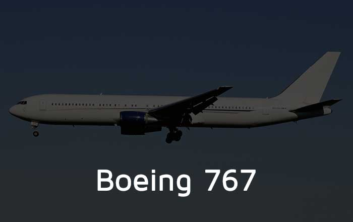 Hire A Boeing 767 Private Jet