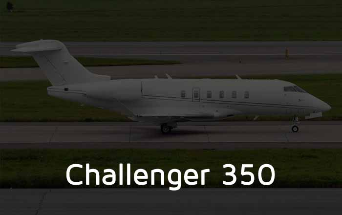 Hire A Challenger 350 Private Jet
