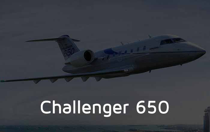 Hire A Challenger 650 Private Jet