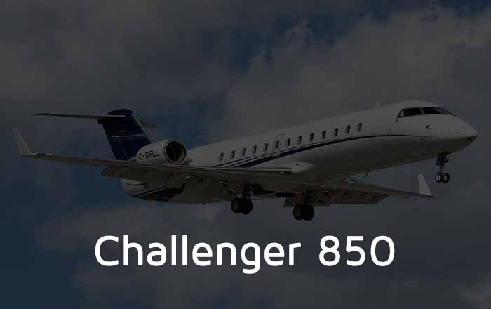 Hire A Challenger 850 Private Jet