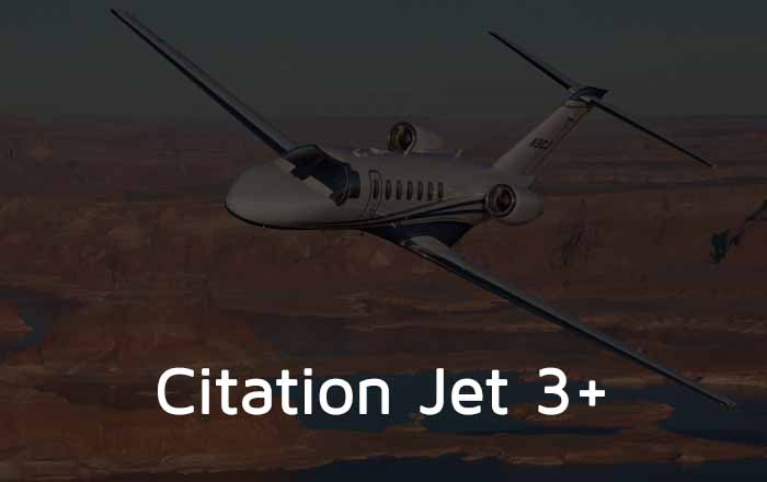 Citation Jet 3+ Private Jet Hire