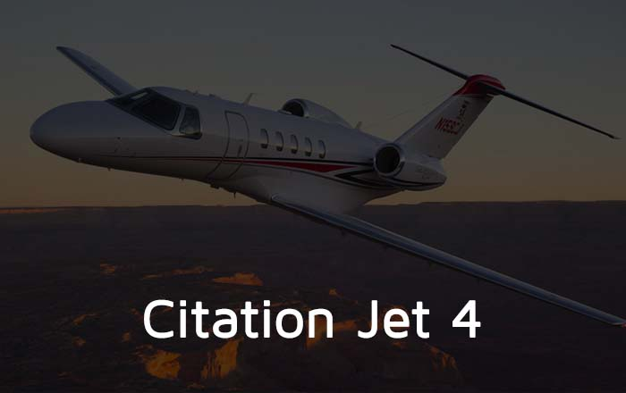 Citation Jet 4 Private Jet Hire