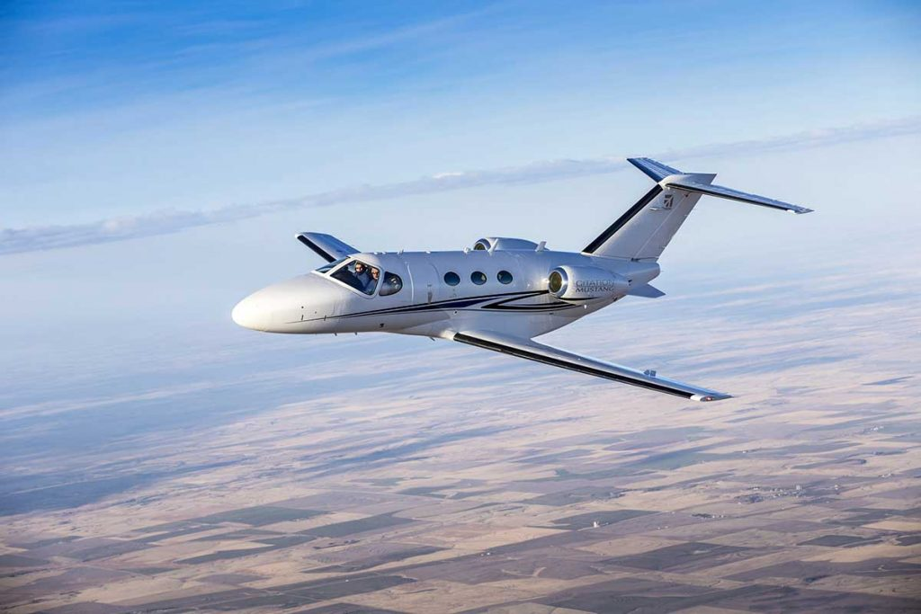 Citation Mustang Empty Leg