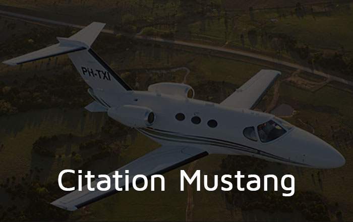 Citation Mustang Private Jet Hire
