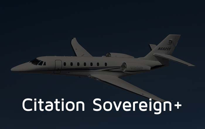 Hire A Citation Sovereign Private Jet