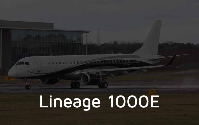 Hire A Lineage 1000 Private Jet