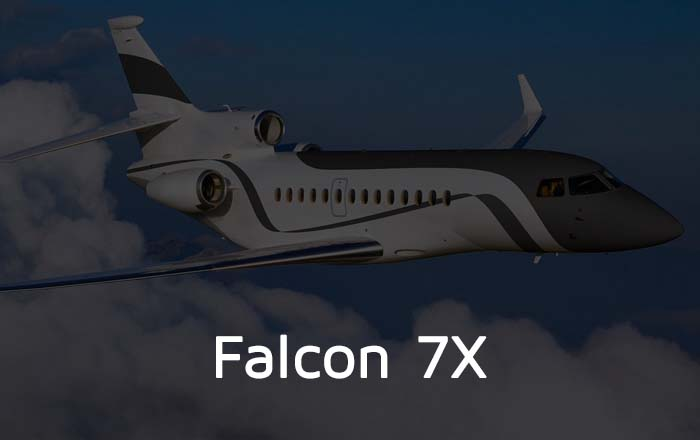 Falcon 7X Private Jet Hire