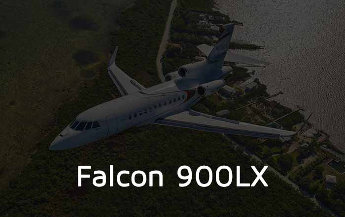 Hire A Falcon 900LX Private Jet