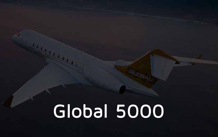Hire A Global 5000 Private Jet