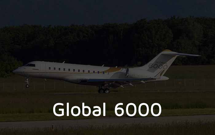 Hire A Global 6000 Private Jet