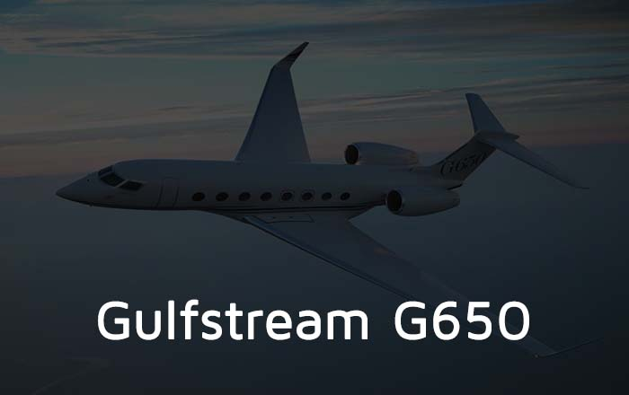 Hire A Gulfstream G650 Private Jet