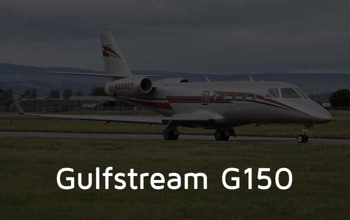 Hire A Gulfstream G150 Private Jet