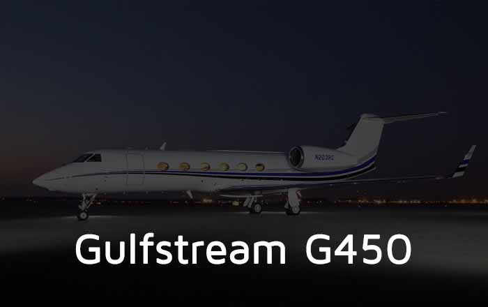 Hire A Gulfstream G450 Private Jet