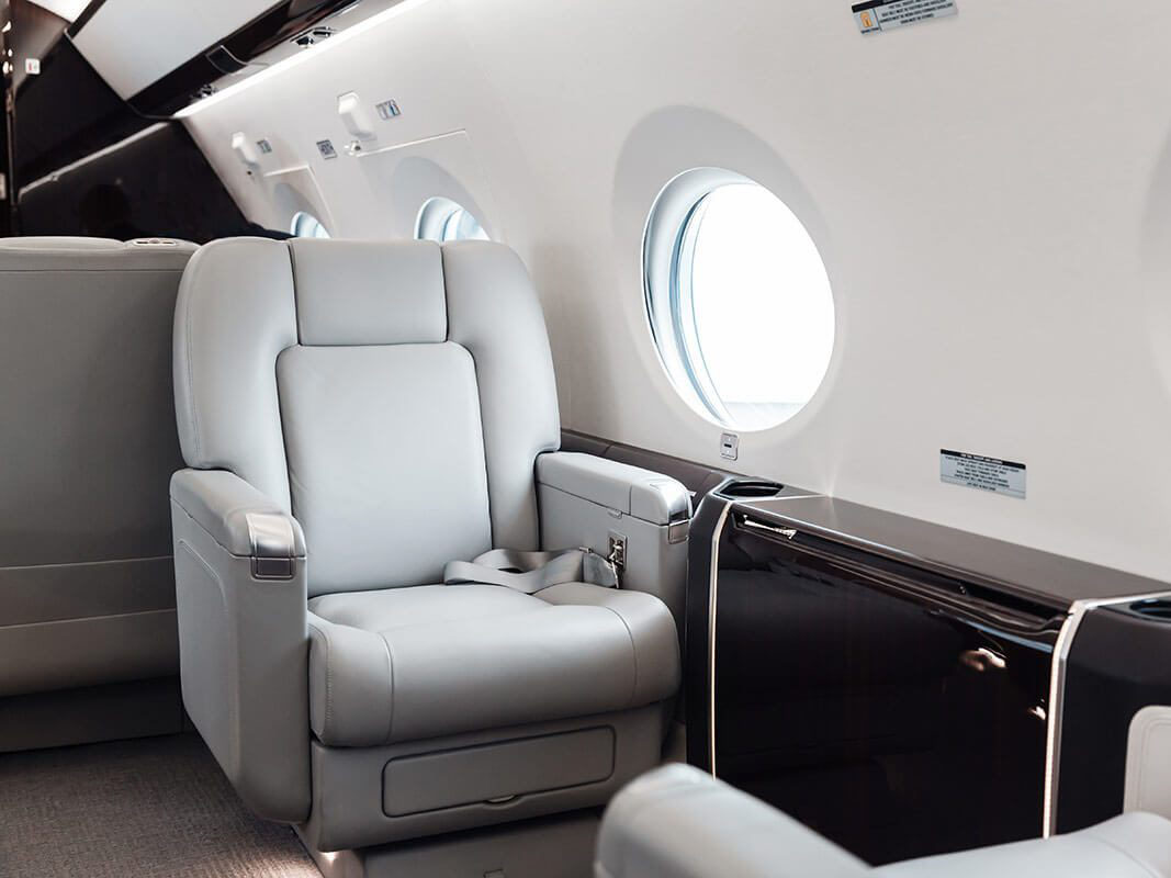 Gulfstream Private Jet Interior