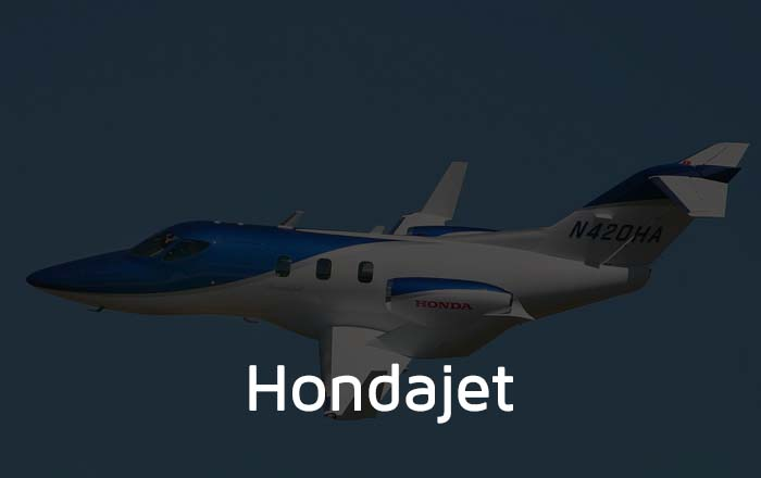 Hondajet Private Jet Hire