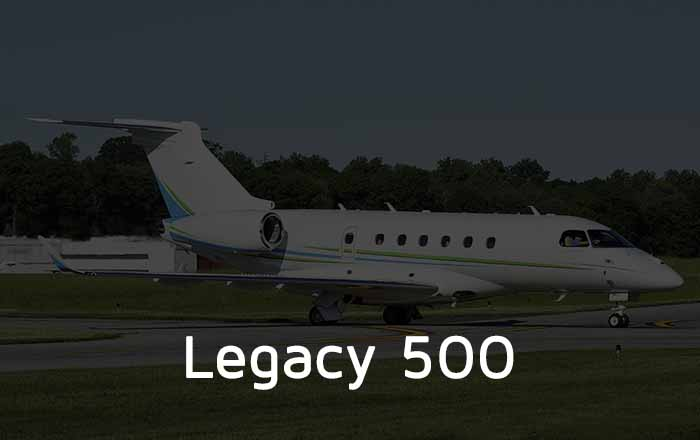 Hire A Legacy 500 Private Jet