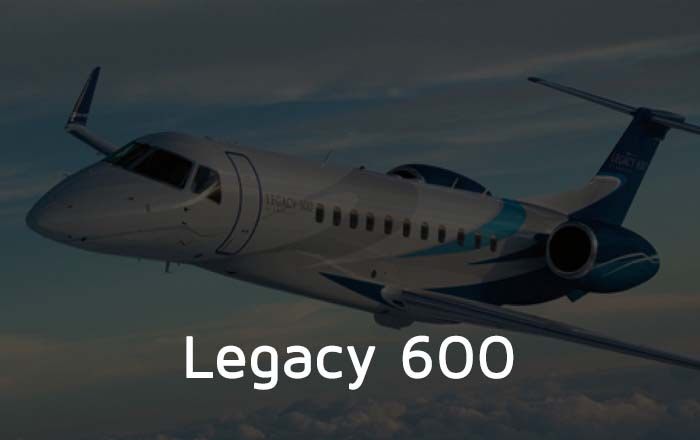 Hire A Legacy 600 Private Jet