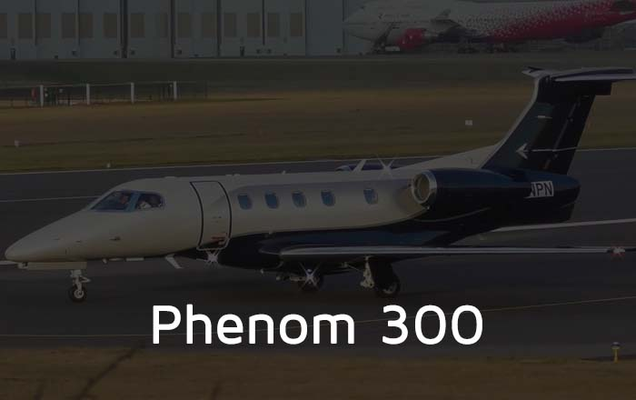 Hire A Phenom 300 Private Jet