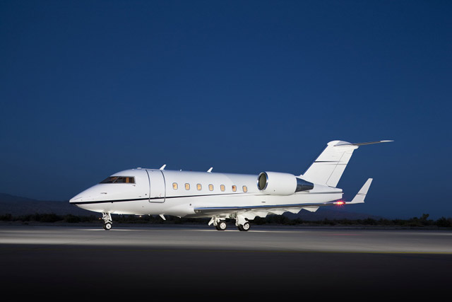 Challenger 604 Private Jet