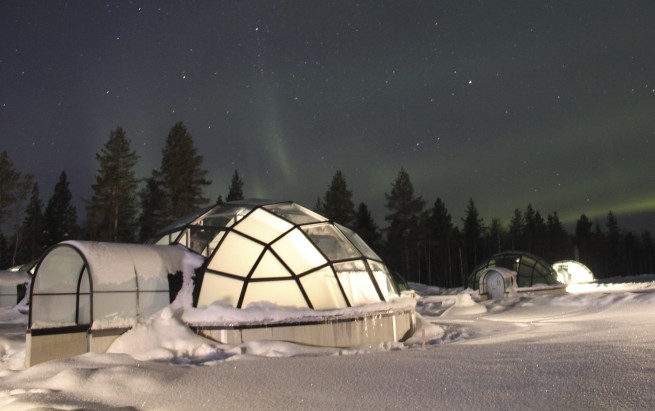 Private Jet to Lapland and Aurora Borealis